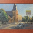 Church on Alfred -20cm x30cm oil on board