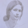 Dorothy – 42cm x 30cm pencil on paper