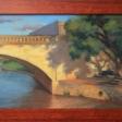 Lennox bridge -20cm x 30cm oil on board