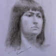 Izabella – 42cm x 30cm pencil on paper