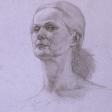 Mia –42cm x 30cm pencil on paper